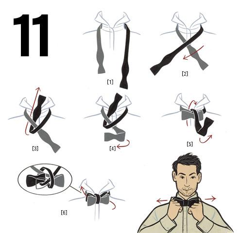 How to tie a bow tie thenattyurbanite - Comment nouer un noeud papillon ...